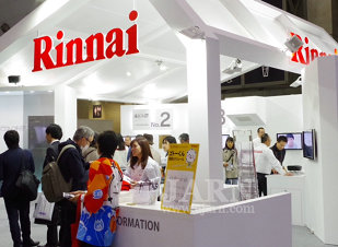 Rinnai  at EcoPro Expo 2016
