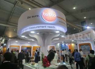testo at Acrex -live-